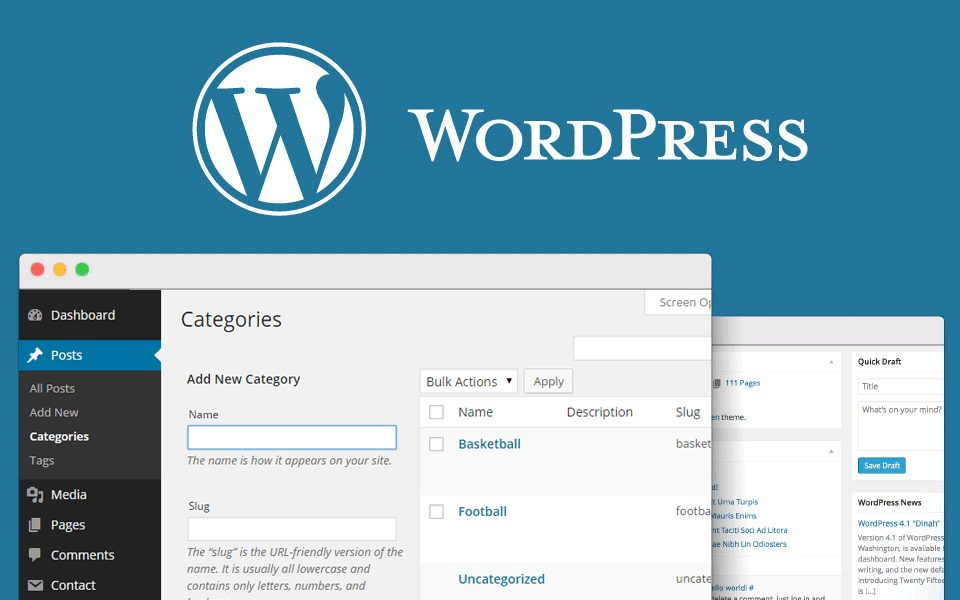 WordPress-рубрики