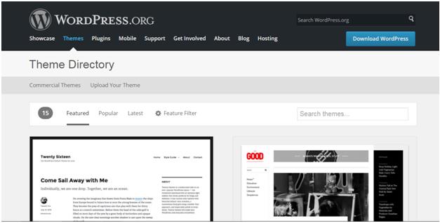 Установка WordPress с помощью метода загрузки
