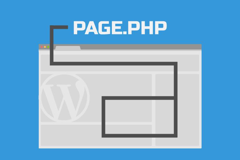 Создание своей темы WordPress – page.php