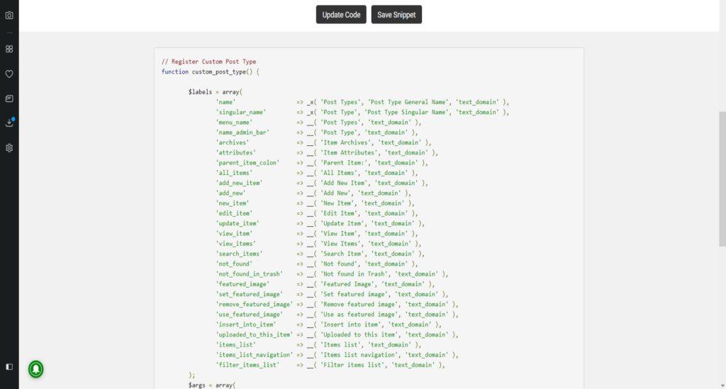 Пользовательские типы записей WordPress (Custom Post Types)