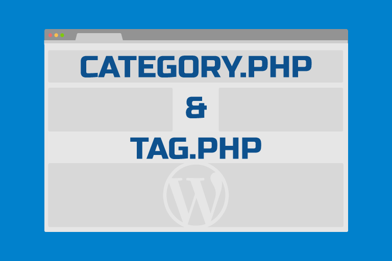 Создание темы WordPress – archive.php, category.php и tag.php
