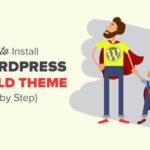 Как Создать И Настроить Дочернюю Тему WordPress