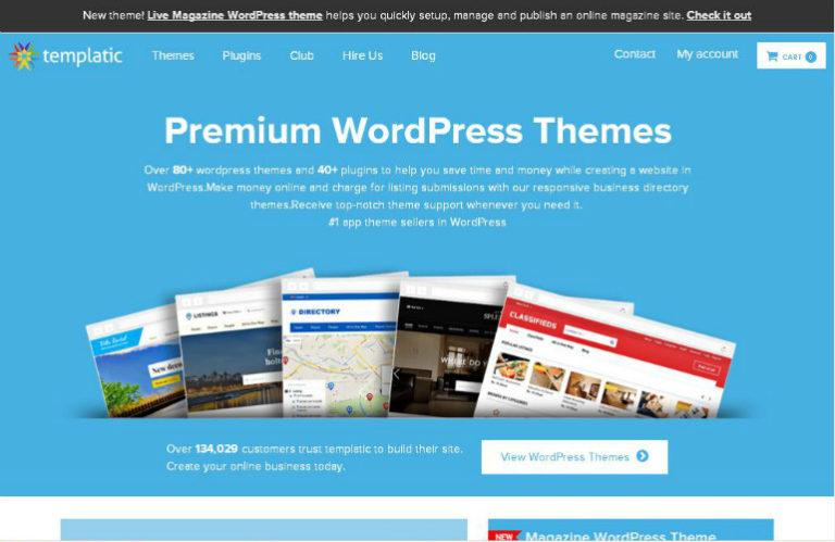 Скачать премиум тему WordPress