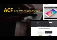 acf and woocommerce