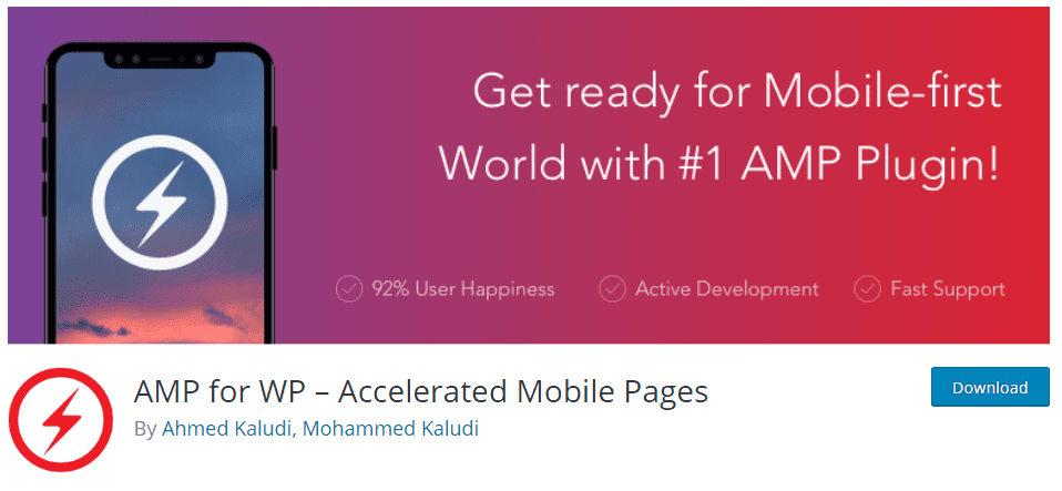 Плагин WordPress Amp - AMP for WP