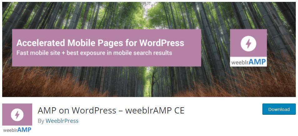 Убедитесь, что вы нажали кнопку Обновить, чтобы сохранить изменения. Плагин WordPress Amp - WeeblrAMP CE