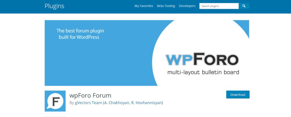 wpForo Forum